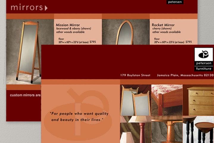 Petersen Furniture Website